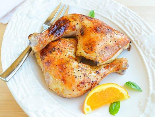 Orange Brined Chicken