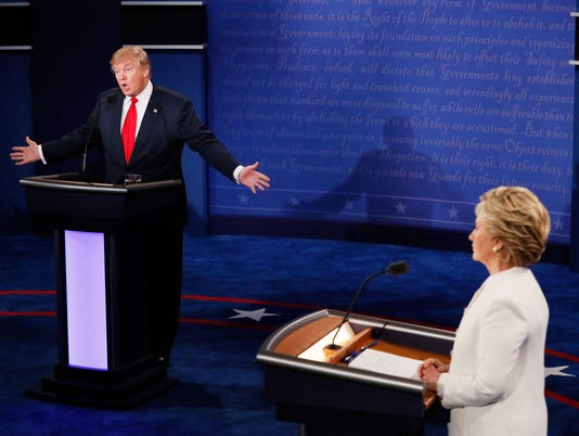 Presidential debate in 2016