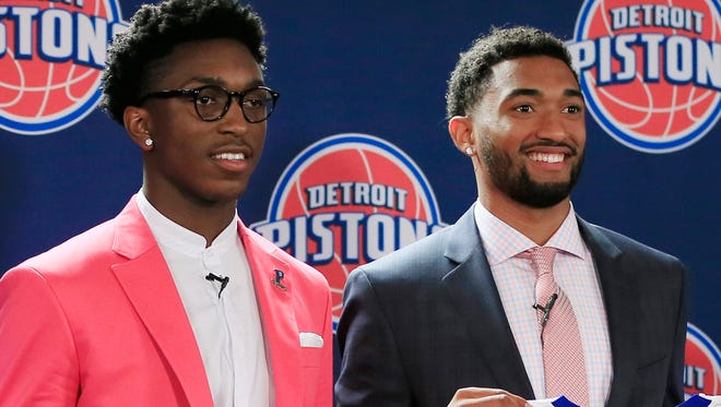New Detroit Pistons draft picks Stanley Johnsonand Darrun Hilliard will participate in the NBA Summer League.