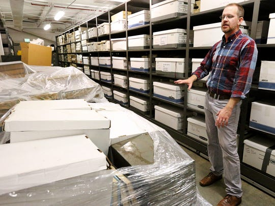 Rutherford County archivist John Lodl discusses the need for more space for records.