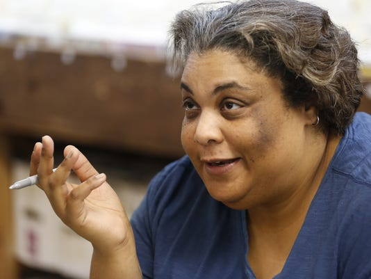 LAF Roxane Gay promotes new comic at Von's