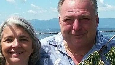Glen Carullo, and his wife, Margaret. Glen Carullo, 60, died Sunday.