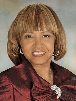 City Manager Anita Favors Thompson who served from Mar. 6, 1997 to Nov. 20, 2015.