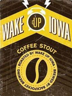 Backpocket will release its new winter seasonal, Wake Up Iowa, on Saturday.