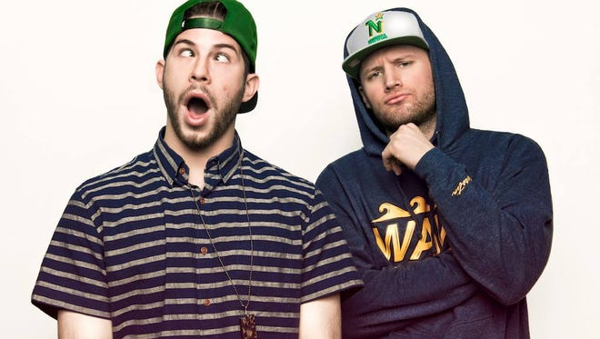 Hip-hop duo Aer appears at Vinyl Music Hall today.