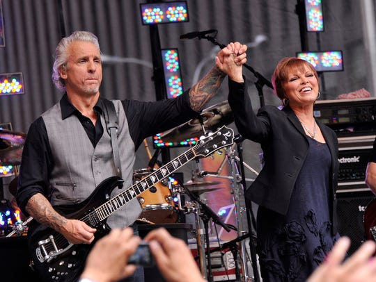 Grammy-winning singer Pat Benatar and her husband and guitarist Neil Giraldo will perform at Paramount Hudson Valley, Feb. 2.