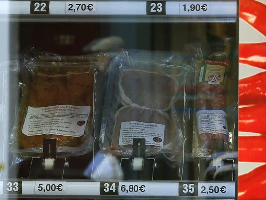 France Meat Vending Machine
