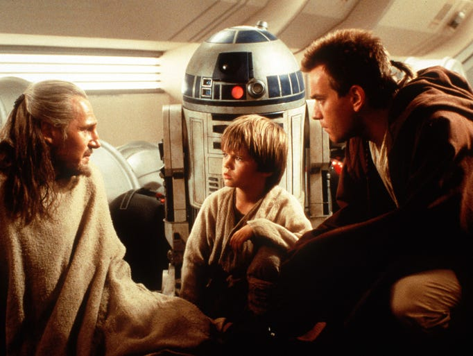 A look back at the 'Star Wars' prequel trilogy, starting