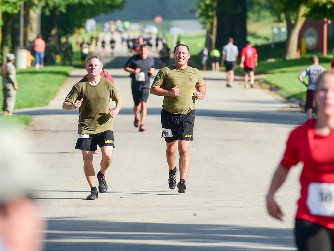 Photos: No Man's Land Trench Run at Camp Dodge in Johnston