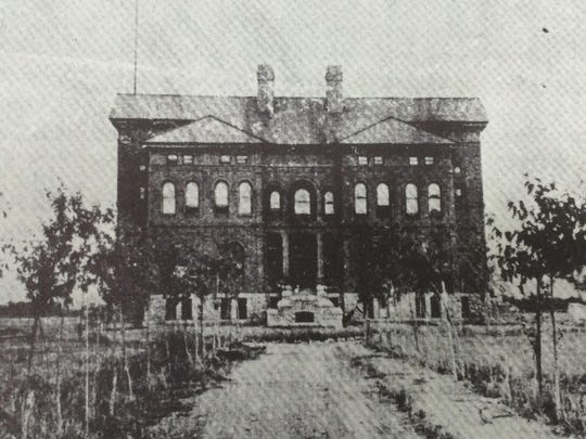 This is the Montana School for the Deaf and Blind in Boulder in 1893-1898.