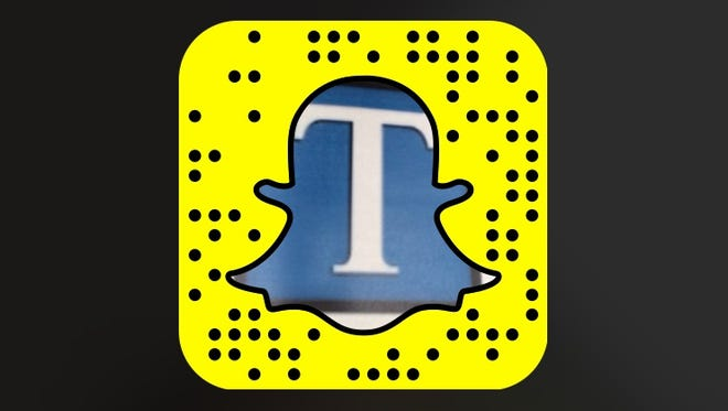 Add us by searching for tennessean1907 or by opening the Snapchat app on your phone, pointing your camera at our ghost in the above image and tapping your screen.