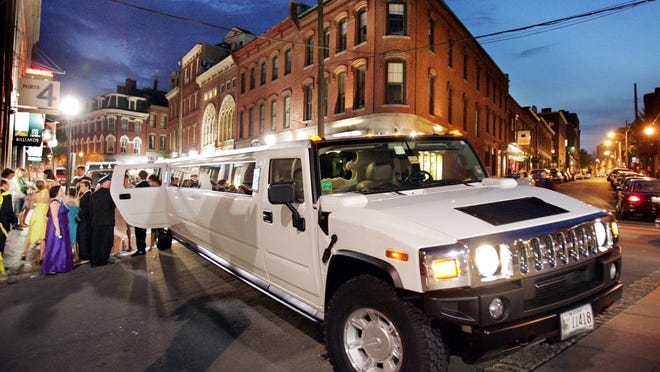 Limos and charter buses may still reign as kings for prom transportation, but they have competition from Uber and other hail services, along with teens who plan to rent their own wheels or borrow from mom and dad.