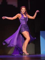 Matti-Lynn Chrisman competes in the final night of