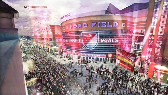 The Detroit ownership group is convinced that Ford Field is the best option for an MLS franchise.