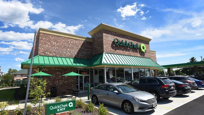 """Exterior photo of Hackensack's newest QuickChek during the media preview in Hackensack on 06/25/18. The store is the latest in the company's fleet of """"new concept"""" stores geared for millennials."""