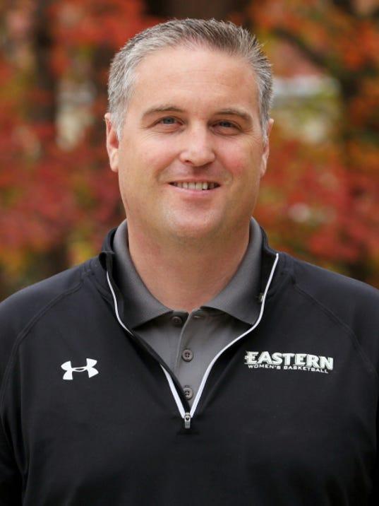 Eastern University's Nate Davis was hired as Gettysburg College women's basketball coach.