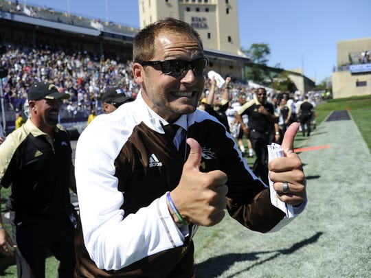 Western Michigan coach P.J. Fleck