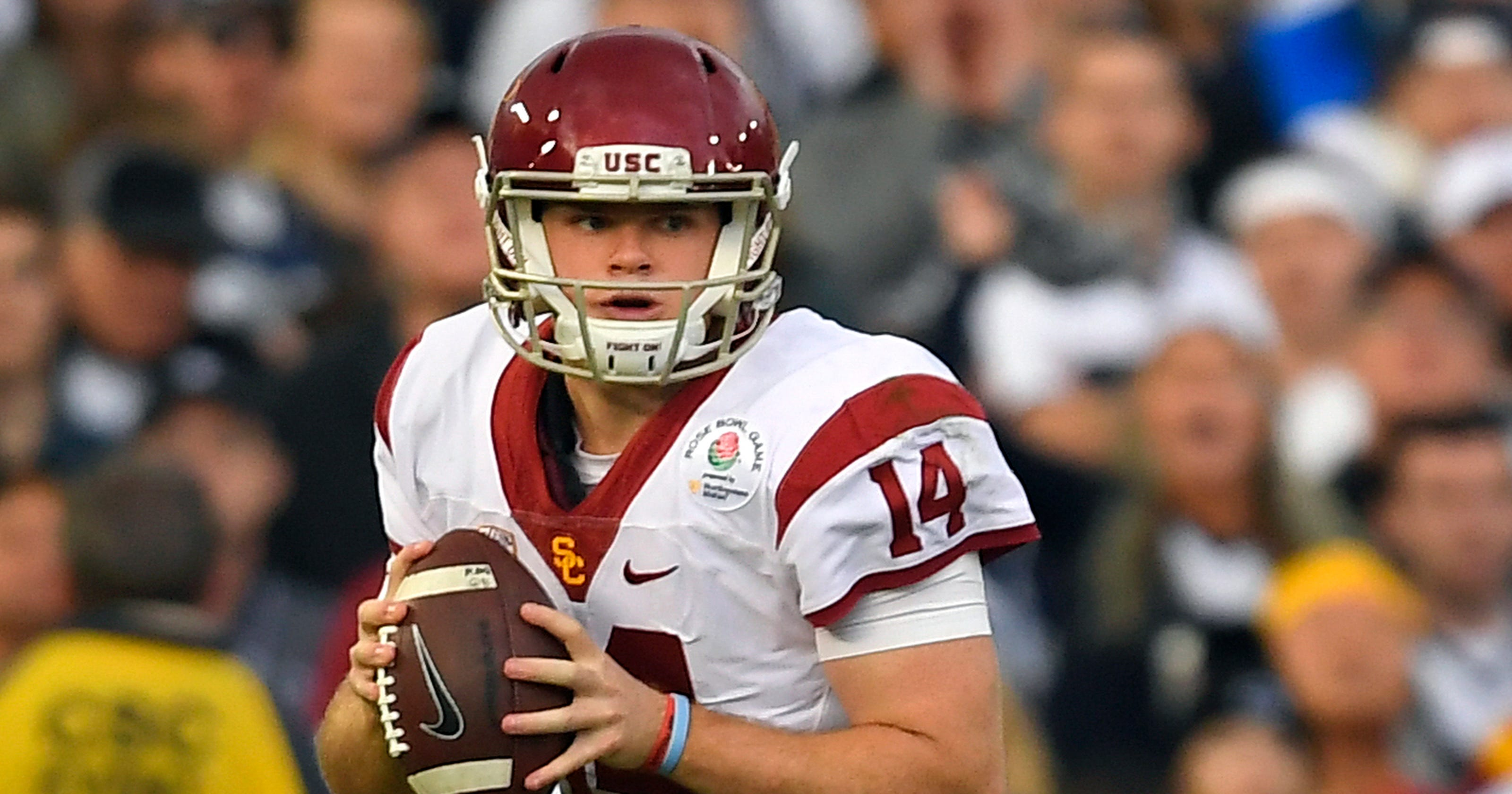 timeless design 31669 32e31 Video: Sam Darnold talks NFL draft, playing for the NY Giants