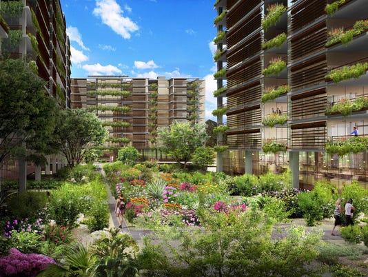 Kierland development