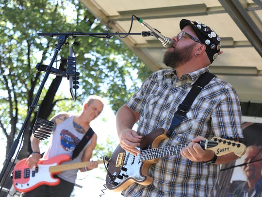 Full Tilt Boogie plays at the Tim Cretsinger Memorial