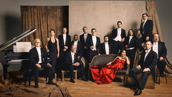 Pink Martini will entertain at the Admiral Theatre April 17.