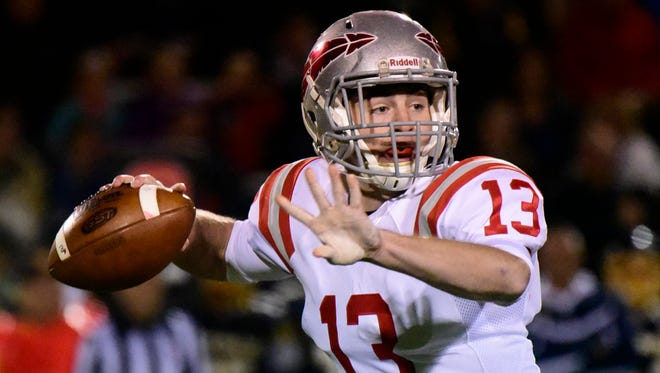Bellevue quarterback Al Foos was recognized offensive player of the year in the Northwest District in Division IV.