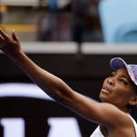 Venus focused on tennis, not age, in record 73rd Grand Slam