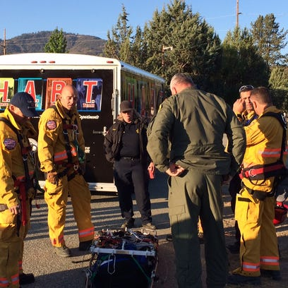 Horse rescued from canyon near Lake Hemet
