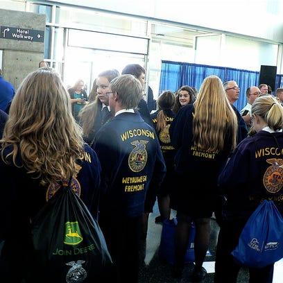FFA Convention: A sea of blue
