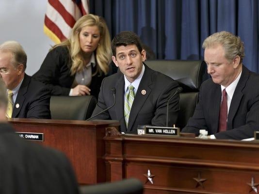 Paul Ryan, Chris Van Hollen, Tom Price
