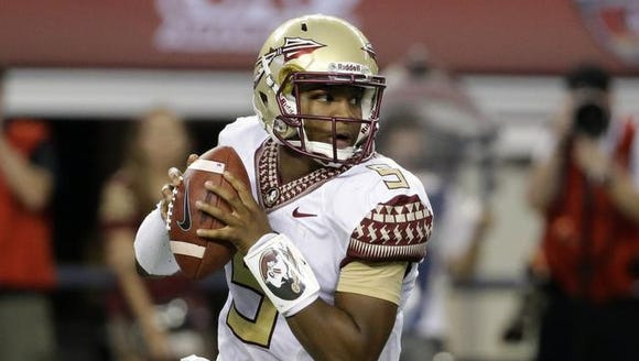 The Tampa Bay Buccaneers drafted Jameis Winston first