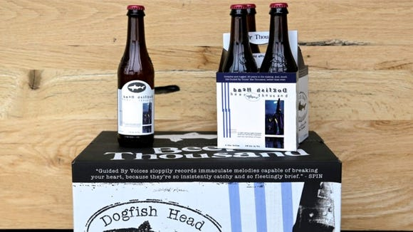 The new Beer Thousand beer, released this week by Dogfish