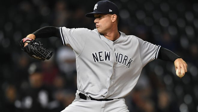 Reliever Tyler Webb, a 10th-round draft pick of the Yankees in 2013, was called up from the minor leagues during this season and has pitched six innings in seven games for New York.