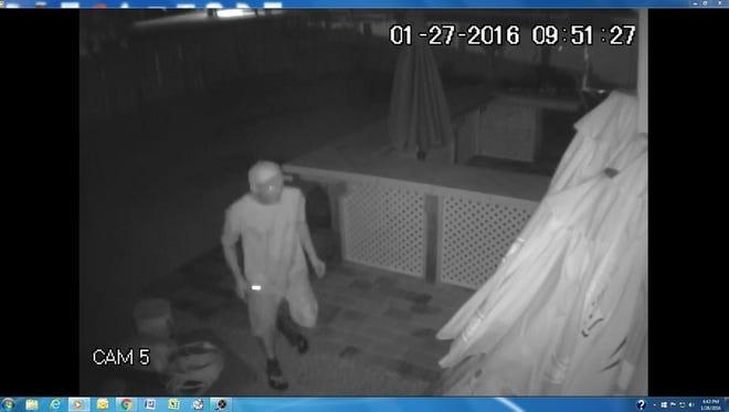 Suspect in Moese Lodge burglary in Cape Coral
