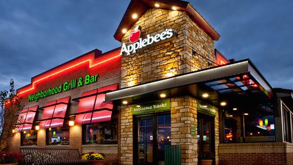 Salisbury chef Brad Brown was recognized in Applebee's