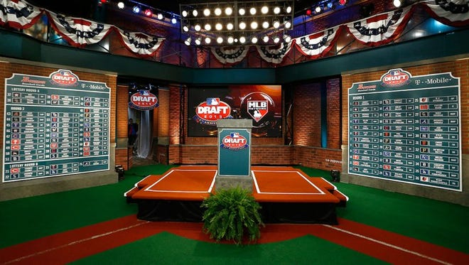 The MLB Network Headquarters in Secaucus, New Jersey, home of the MLB Draft.