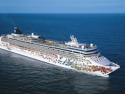 Unveiled in late 2007, the 2,394-passenger Norwegian Gem was the last in Norwegian Cruise Line's Jewel Class series. What's the vessel like? USA TODAY's Gene Sloan offers a photo tour.