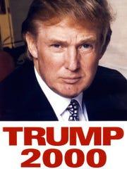 Donald Trump campaign poster
