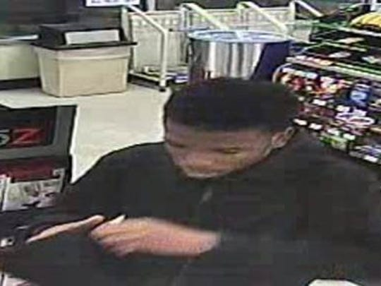 Police are searching for two men they say attempted to rob a 7-Eleven in Ogletown Thursday morning.