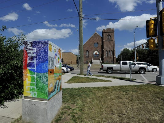 Art Wrap - Whittier Neighborhood