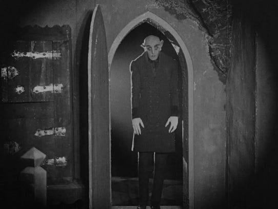 "The 1927 silent horror movie ""Nosferatu: Symphony of"