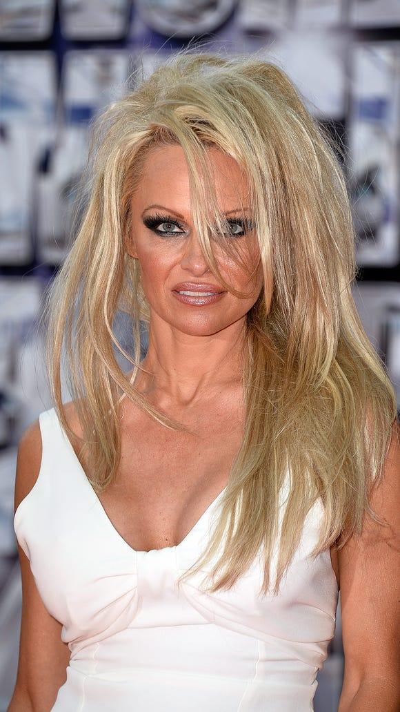 Pamela Anderson Bad Hair Day