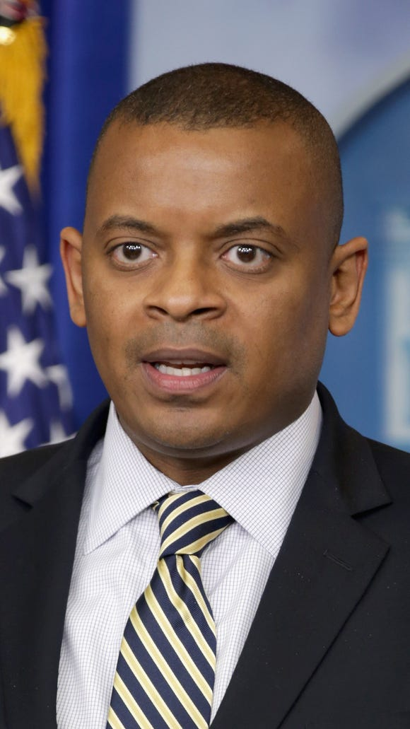 Transportation Secretary Anthony Foxx Briefs The Media At The White House