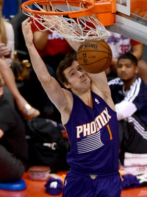 Goran Dragic had a game-high 26 points and eight assists for the Suns.