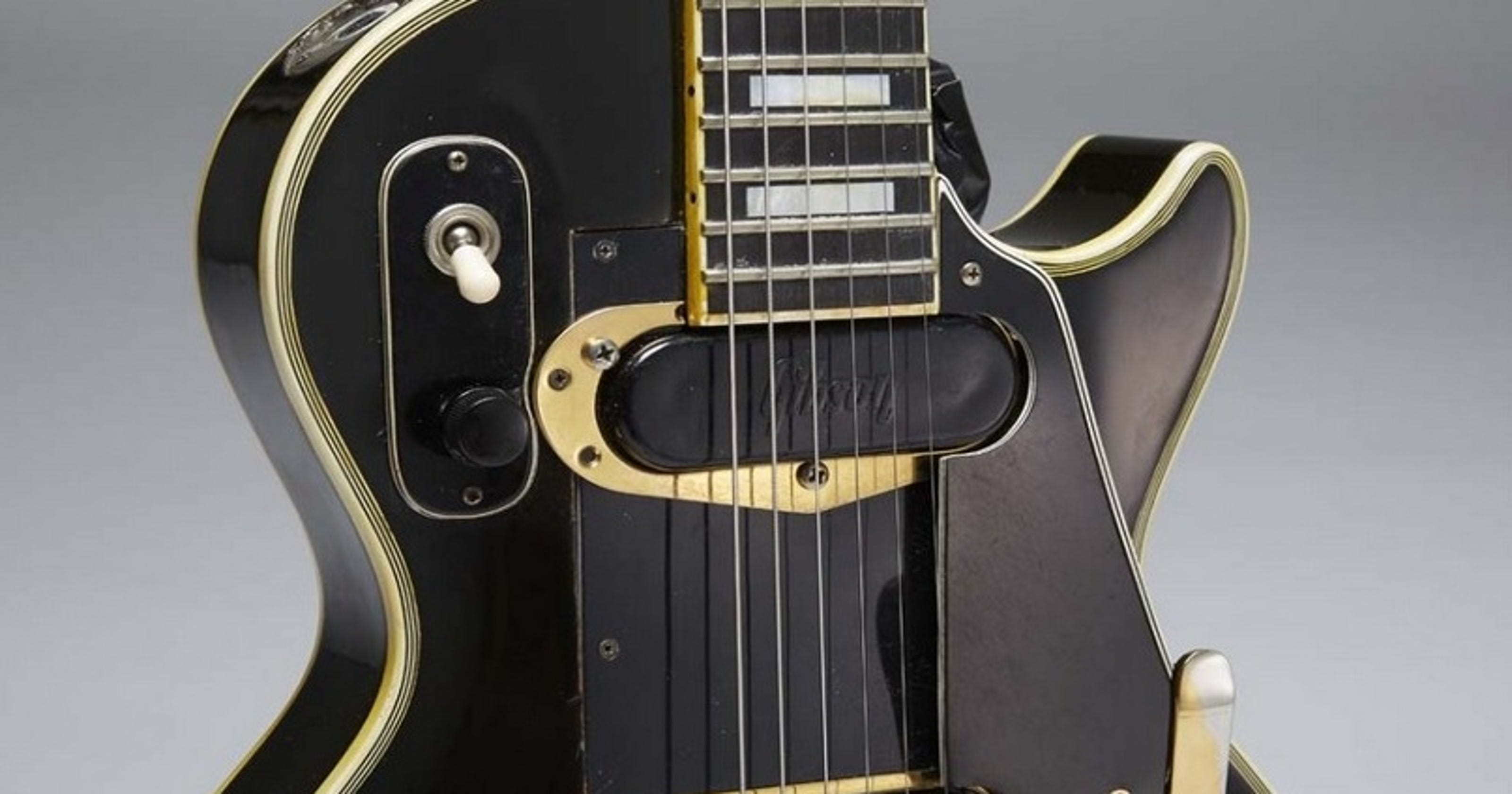 jim irsay adds early les paul to guitar collection. Black Bedroom Furniture Sets. Home Design Ideas