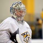Pekka Rinne focused on 'getting back to being myself'
