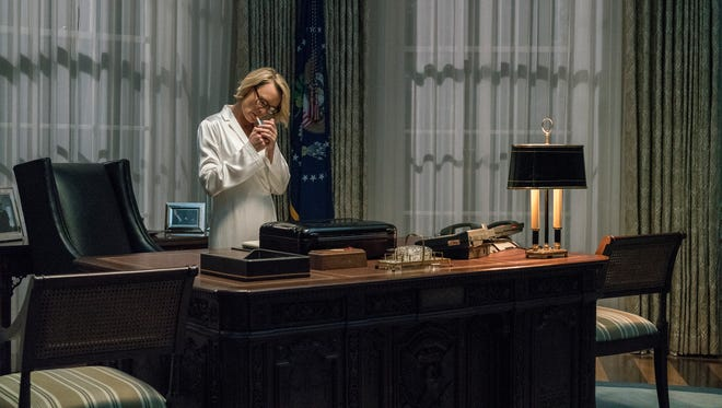 """Robin Wright as Clair Underwood in Netflix's """"House of Cards."""" Photo by David Giesbrecht / Netflix"""