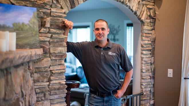 Ben Mattern, 32, of Hilton is CEO of Mattern Masonry, a business that has been in operation for 12 years. Mattern has four full-time employees and two part-time.