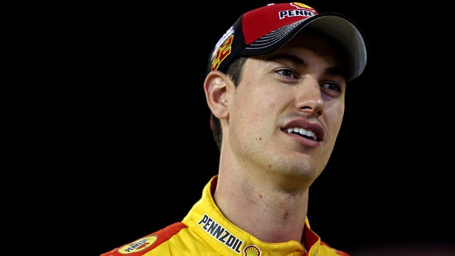 Joey Logano qualified for today's NASCAR championship race and could bring Roger Penske his second NASCAR title.