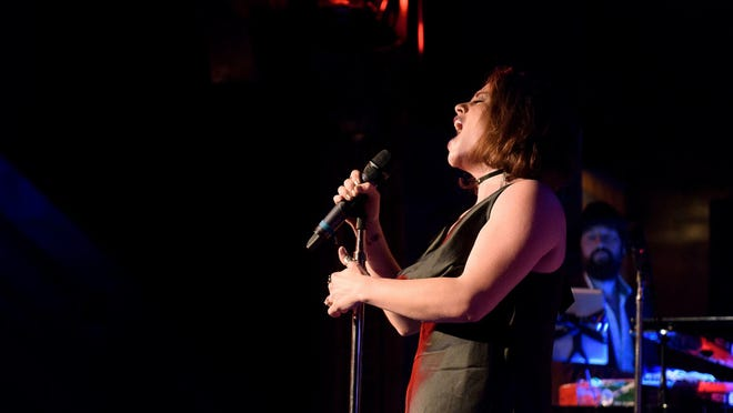 Katrina Dideriksen performs in New York City with Women Rock at The Cutting Room.